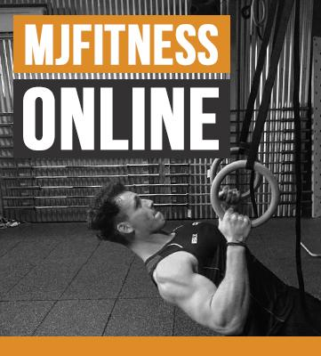 MJFITNESS ONLINE COACHING (App Use)